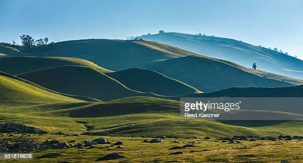 Tehachapi Mountains of Southern California