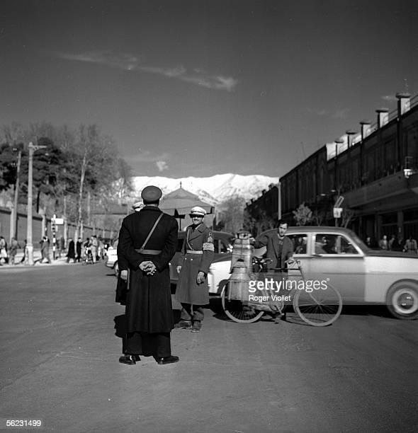 Teheran . A street. 1958.