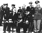 Teheran conference roosevelt and churchill standing adam ernest king picture id535781991?s=170x170