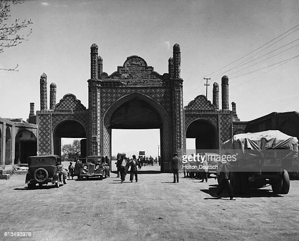Teheran Iran One of the last remaining gates of Teheranwere demolished by the Shah Pahlevi