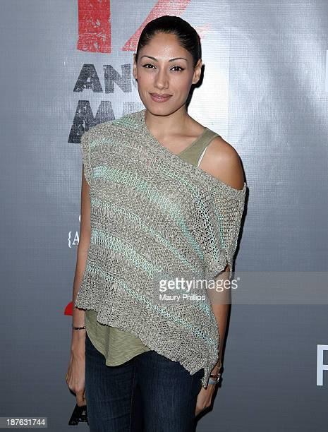 Tehmina Sunny attends '12 Angry Men' at the Pasadena Playhouse on November 10 2013 in Pasadena California