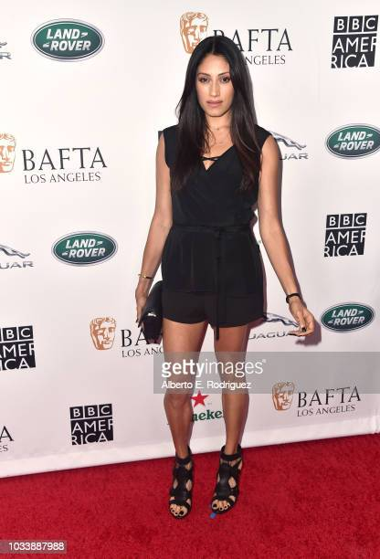 Tehmina Sunny attends BAFTA Los Angeles BBC America TV Tea Party 2018 at The Beverly Hilton Hotel on September 15 2018 in Beverly Hills California