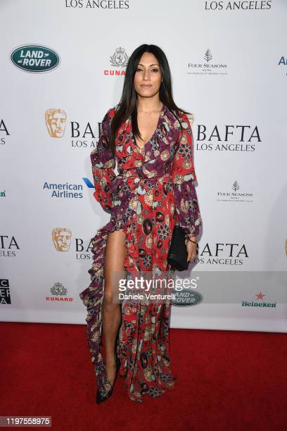 Tehmina Sunny attends The BAFTA Los Angeles Tea Party at Four Seasons Hotel Los Angeles at Beverly Hills on January 04 2020 in Los Angeles California