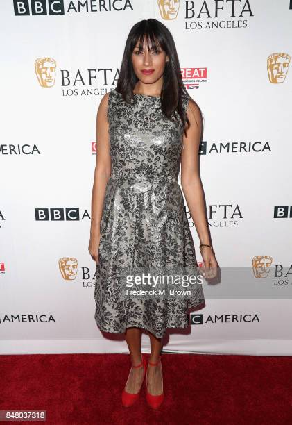 Tehmina Sunny attends the BBC America BAFTA Los Angeles TV Tea Party 2017 at The Beverly Hilton Hotel on September 16 2017 in Beverly Hills California