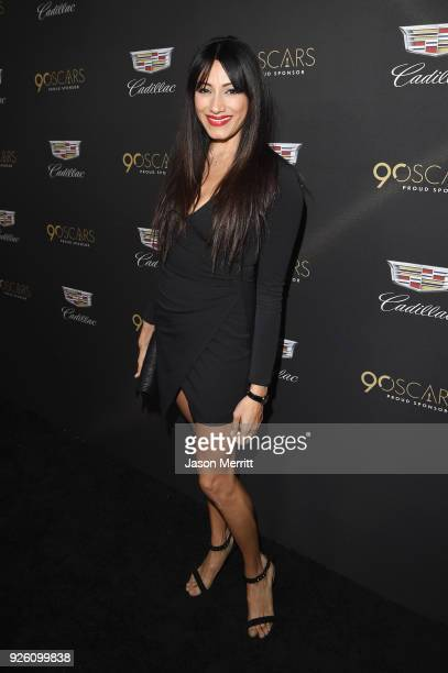 Tehmina Sunny attends the Cadillac Oscar Week Celebration at Chateau Marmont on March 1 2018 in Los Angeles California