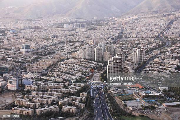 Tehran city centre