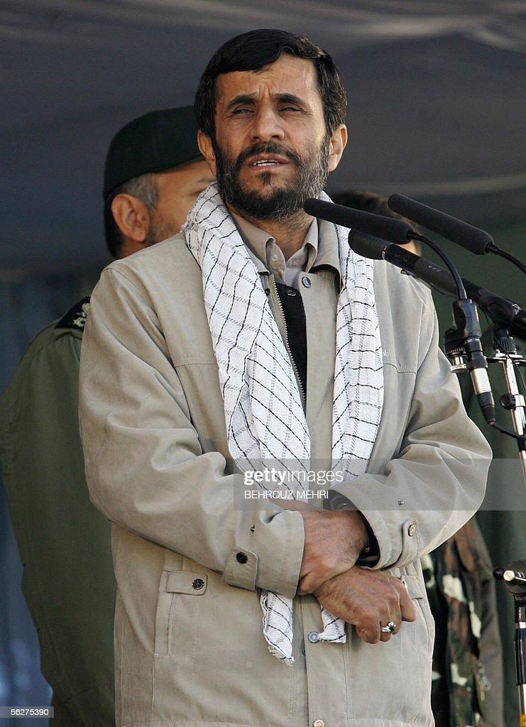 Iranian President Ahmadinejad Attends 25 Years Of Basij ...