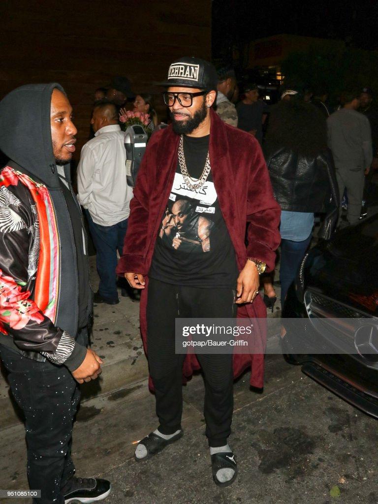 Celebrity Sightings In Los Angeles - April 25, 2018
