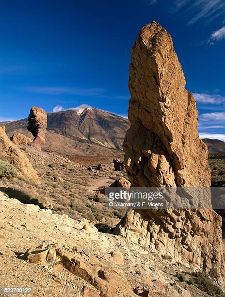 Teide Summit and Cinchado Rock