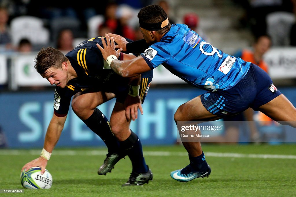 Super Rugby Rd 2 - Highlanders v Blues