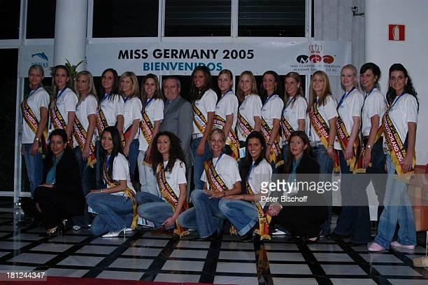 """Teilnehmerinnen der """"Miss Germany""""-Wahl 2005, Gran Canaria/Kanarische Inseln/Spanien, ,"""
