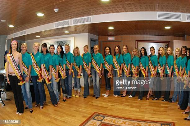 Teilnehmerinnen der Miss GermanyWahl 2005 Misses Germany Claudia Ehlert Las Palmas/Gran Canaria/Kanarische Inseln/Spanien