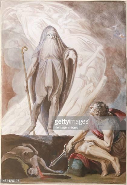 Teiresias Foretells the Future to Odysseus 17801783 Found in the collection of the Albertina Vienna