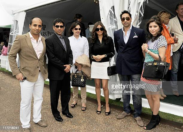 Tej Lalvani Audemars Piguet Ambassador Sachin Tendulkar Anjali Tendulkar Tara Lalvani Raj Chandok and Kanika Chandok attend the launch of the...