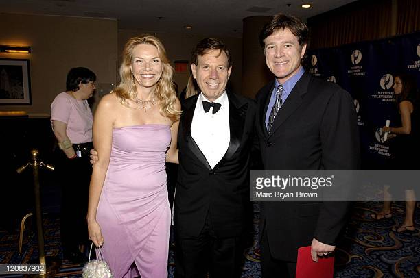 Teja Anderson Peter Price and Frank Dicopoulos during The 32nd Annual Creative Craft Daytime Emmy Awards at Mariott Marquis Hotel in New York City...