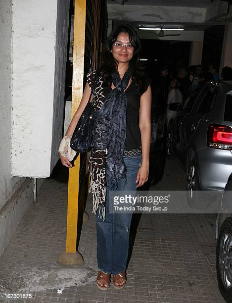 Tejaswani Kapoor at the special screening of 'Aashiqui 2' in Mumbai on 23rd April 2013