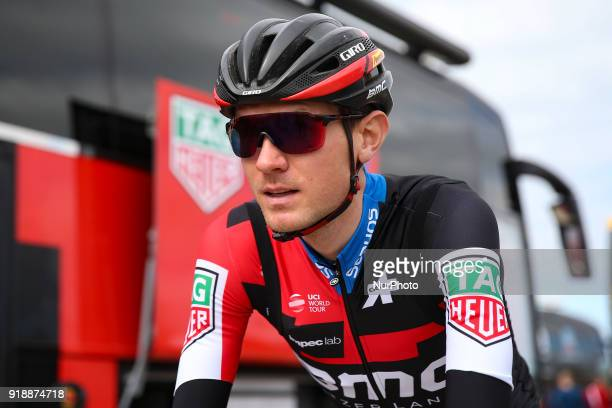Tejay Van Garderen of BMC Racing Team before the 2nd stage of the cycling Tour of Algarve between Sagres and Alto do Foia on February 15 2018