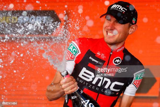 US Tejay Van Garderen of team BMC during the 18th stage of the 100th Giro d'Italia Tour of Italy cycling race from Moena to Ortisei on May 25 2017...