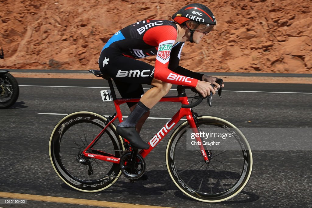 Tejay van Garderen of The United States and BMC Racing Team / during the 14th Larry H. Miller Tour of Utah, Prologue a 5,3km Individual Time Trial Stage from St George to St George / ITT / TOU / on August 6, 2018 in St George, Utah.