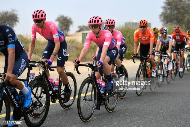 Tejay van Garderen of The United States and Team EF Education First / Sean Bennett of The United States and Team EF Education First / during the 5th...