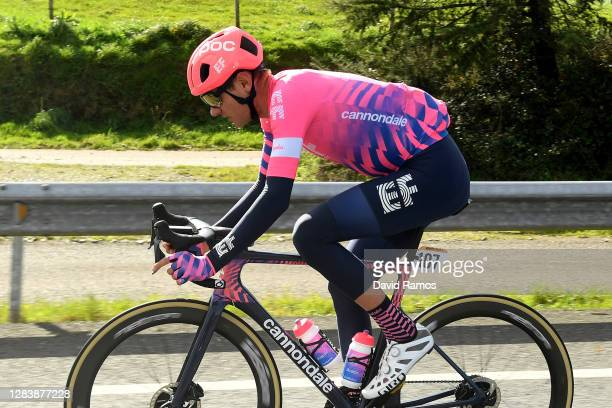 Tejay Van Garderen of The United States and Team EF Pro Cycling / during the 75th Tour of Spain 2020, Stage 14 a 204,7km stage from Lugo to Ourense /...