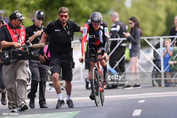 Tejay Van Garderen of USA and Team Bmc Racing Team after stage four of the 13th Amgen Tour of California 2018 San Jose / Morgan Hill a 347 km...