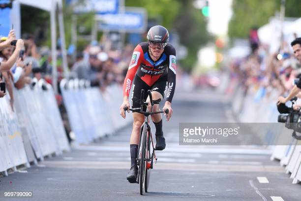 Tejay Van Garderen of USA and Team Bmc Racing Team rides during stage four of the 13th Amgen Tour of California 2018 San Jose / Morgan Hill a 347 km...