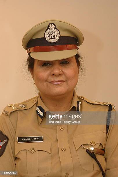 Tejdeep Kaur Menon Inspector General of Police Special Protection Force Hyderabad Andhra Pradesh India