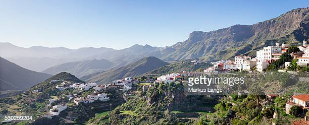 tejeda, gran canaria, canary islands, spain, europe - tejeda stock pictures, royalty-free photos & images
