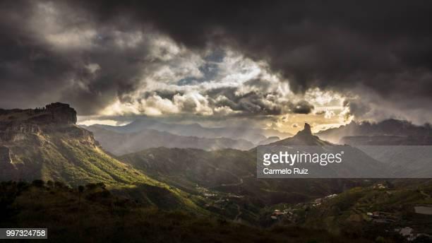 tejeda valley - tejeda fotografías e imágenes de stock