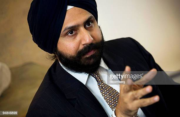 Tejpreet Singh Chopra, chief executive officer of General Electric Co.'s India unit, speaks in an interview in New Delhi, India, on Monday, Nov. 24,...