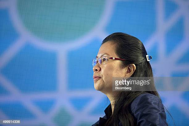 Tekreth Kamrang Cambodia's secretary of state at the ministry of commerce attends the Bloomberg ASEAN Business Summit in Bangkok Thailand on Friday...