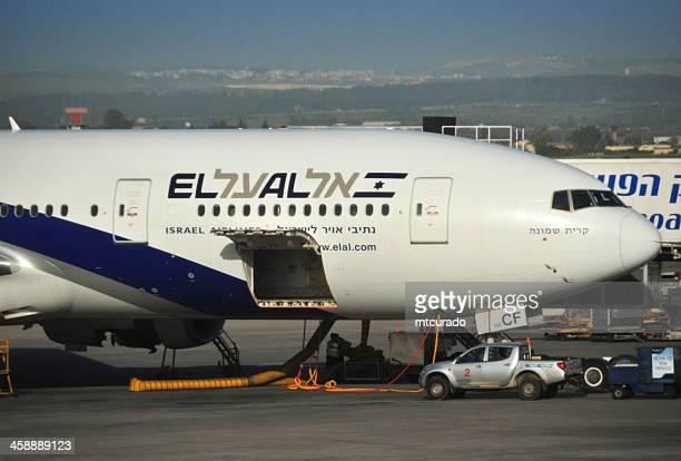 Tel Aviv Ben Gurion Airport, Israel: El Al Boeing 777