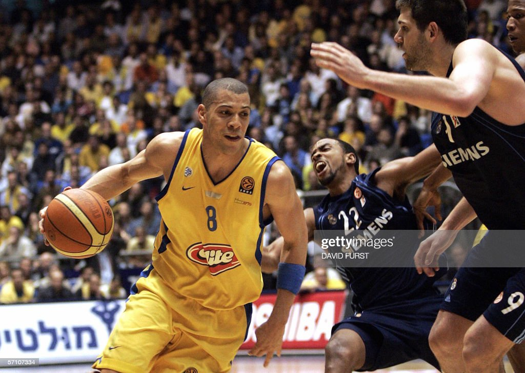 anthony parker maccabi