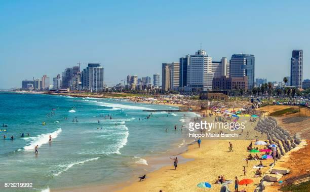 tel aviv - tel aviv stock pictures, royalty-free photos & images