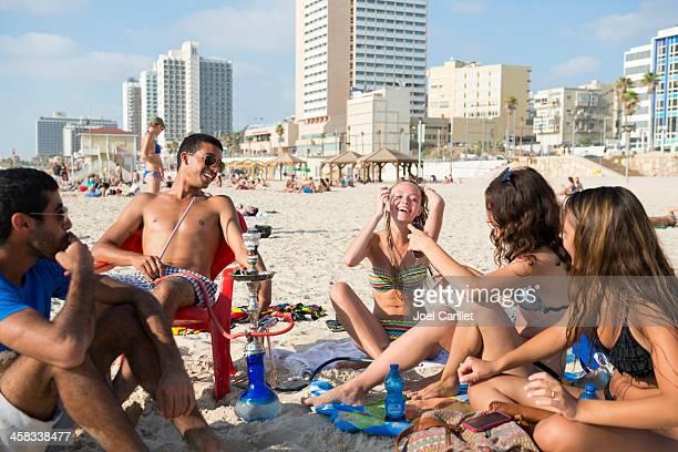 Tel Aviv summer beach lifestyle