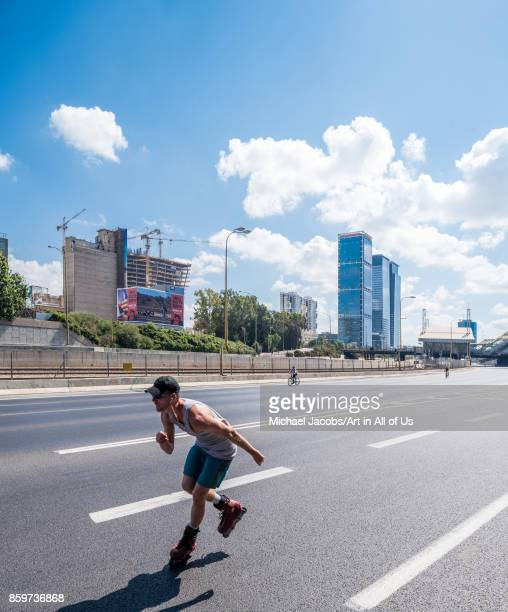 Tel AvivYafo Israel 30th september 2017 Yom kippur Ayalon highway