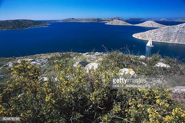 Telascica Bay in the southeastern portion of the island of Dugi Otok Croatia