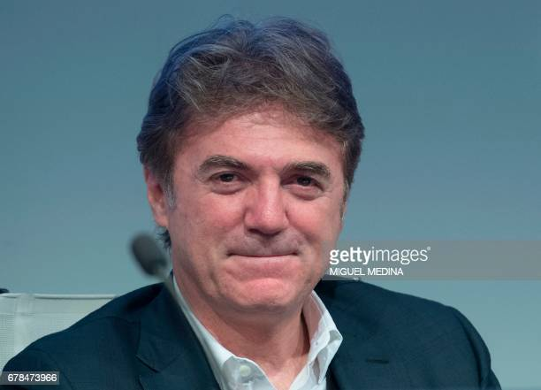 Telecom Italia CEO's Flavio Cattaneo attends the General meeting of shareholders of Telecom Italia with the group's managers and its main shareholder...