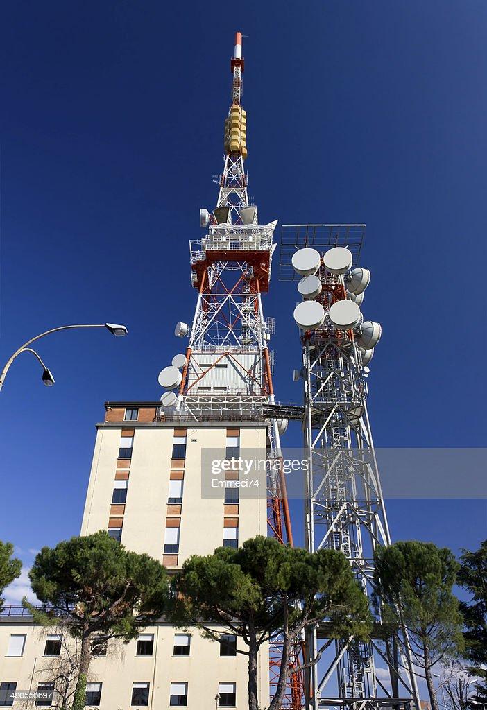 Telecommunication Antenna : Stock Photo