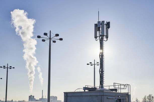 5G Telecommunication Mast