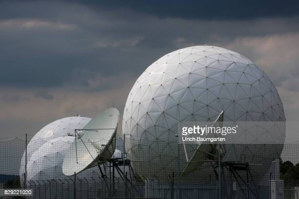 Telecommunication site of the Federal Intelligence Service cover name Hortensie III in Bad Aibling