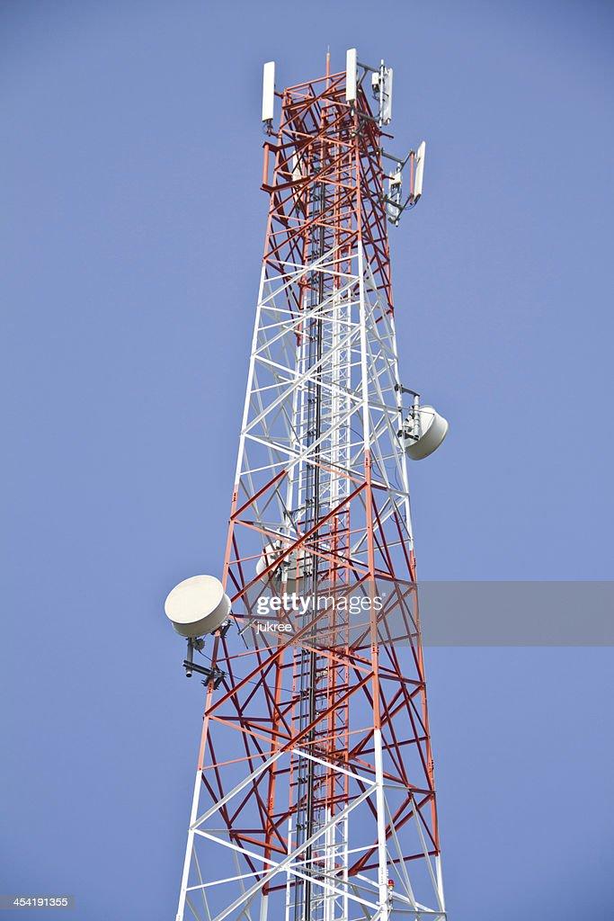 Telecommunications tower : Stock-Foto