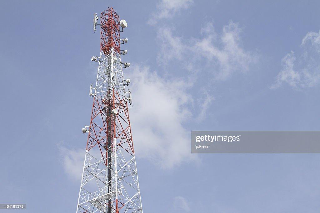 Telecommunications tower : Stock Photo