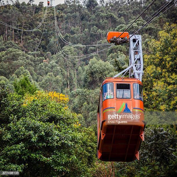 Teleferico Cerro de Monserrate Bogota Colombia