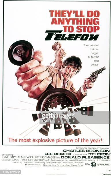 Telefon poster Charles Bronson Lee Remick 1977