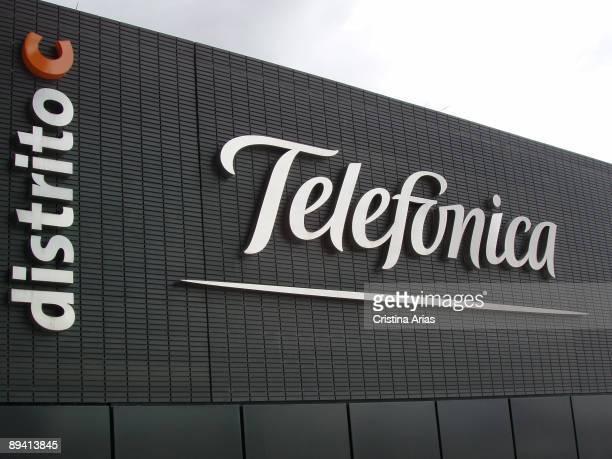 Telefonica. Headquarter in Las Tablas. This new headquarter knowed as District C, has been designed by Rafael de la Hoz arquitects team.