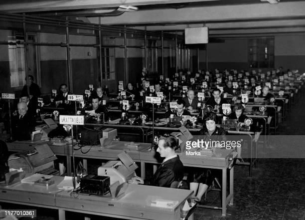 telegraphists-poste-italyne-1956-picture