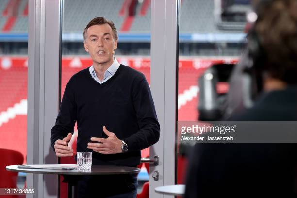 Telekom Senior Vice President Global Strategic Projects and Marketing Partnerships Michael Hagspihl is seen during an interview during the the...