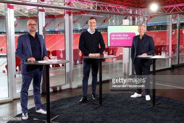 Telekom Senior Vice President Global Strategic Projects Michael Hagspihl and Marketing Partnerships Telekom, Telekom Head of Business Unit TV Michael...